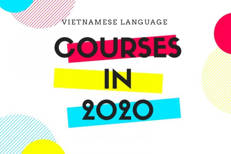 Courses in 2020