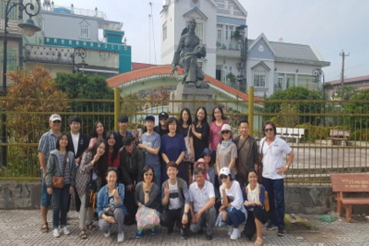 The field trip to Mien Tay